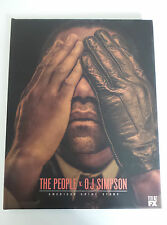THE PEOPLE V. O.J. SIMPSON Press Kit Book Hardcover Promo with Photos Bios 2