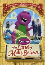 BARNEY THE LAND OF MAKE BELIEVE New Sealed DVD