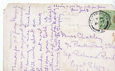 Genealogy Postcard - Family History - Chickley? - East Sheen - London SW   U2924