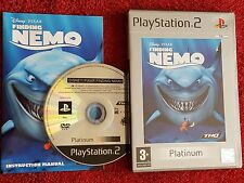 DISNEY PIXAR FINDING NEMO PLATINUM  SONY PLAYSTATION 2 PS2 PAL