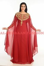 DUBAI WEDDING GOWN JILBAB ARABIAN EXCLUSIVE MOROCCAN KAFTAN DRESS ABAYA 166