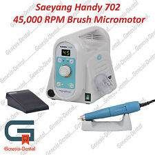 Micromotor Dental Lab Brush 45,000 RPM Digital speed display. MARATHON HANDY 702