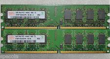 4 Gb Ddr2-800 Pc2-6400 u 666-12 Hynix 2 X 2 Gb Nonecc memoria del PC Mhz 240 Pin