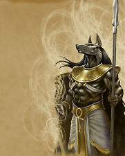 "A3 Poster - The Egyptian God of the Dead ""Anubis"" (Mythological Fantasy Picture)"