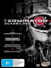 Terminator Quadrilogy 1-4 DVD Set Judgment Day Rise of the machines Salvation