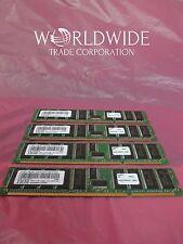 IBM 53P3228 4490 309E 4GB via 4x 1024MB 208-Pin 266MHz DDR1 SDRAM DIMMs Memory