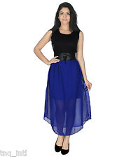 chiffon dress/ latest ladies long and short dress / best comfort fit/women dress