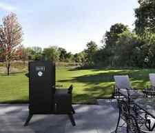 New Charcoal Vertical Smoker, BBQ Offset Steel Cooker, For Patio or Trailer Food