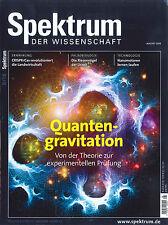 Spektrum der Wissenschaft, Heft August /2016: Quantengravitation ++ wie neu ++