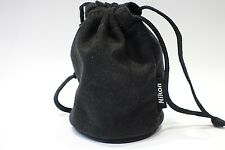 Nikon Soft Lens case pouch to fit Nikkor 18-55mm 50mm 35mm camera lens etc