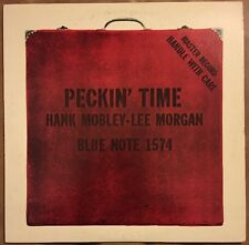 "Blue Note LP Hank Mobley ""Peckin' Time"" Japan King Mono GXK 8095"