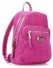 NWT Juicy Couture Nouvelle Pop Nylon Backpack, Pink, $198+tax