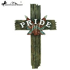 Montana West Cross Wall Southern Pride 15 inch western religious