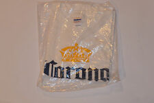 NEW CORONA EXTRA BEER TEE-SHIRT! 'SEALED IN PLASTIC! BIG LOGO'! 100% COTTON! L