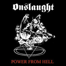 ~COVER ART MISSING~ Onslaught CD Power From Hell Original recording remastered