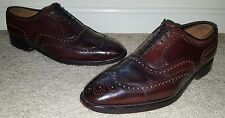 Allen Edmonds Cambridge Shell Cordovan Blucher Shoes 12 D Made in USA