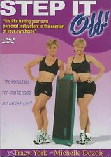 Tracy York and Michelle Davis in Step It Off! (DVD, 2004, Brand New)