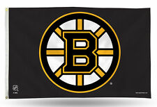 "Boston Bruins NHL Banner Flag 3' x 5' (36"" x 60"") ~ NEW"