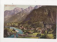 Amsteg [3261] Switzerland Vintage Postcard 318b