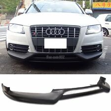 Fit For 09-12 Audi A4 B8 S-Line Bumper Rg Front Bumper Lip PU