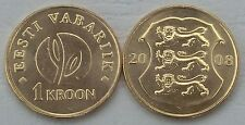 L' Estonia/Estonia 1 Kroon 2008 p44 unz.