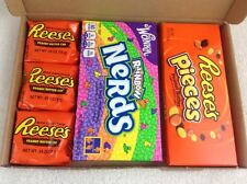 American Retro Sweet Selection Box Wonka Reeses Nerds Everlasting Gobstopper