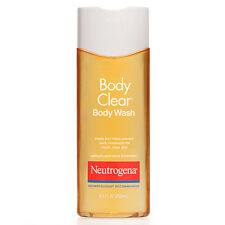 Neutrogena Body Clear Body Wash, Salicylic Acid Acne Treatment 8.5 oz (250 ml)