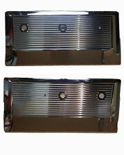 1967-71 Chevy/GMC Truck Blazer Jimmy Suburban Chrome Front Door Panel Set
