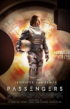 "Passengers movie poster -  11"" x 17""  inches - Jennifer Lawrence poster"