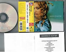 MADONNA Ray of Light JAPAN CD WPCR-2279 '98 Best Hit Price ¥1,980 w/OBI (faded)
