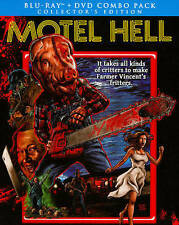 MOTEL HELL (1980) Blu-ray + DVD *SCREAM FACTORY w/Rare SLIPCOVER! New *SEALED!