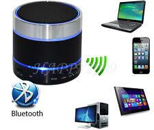 Mini Bluetooth Sans Fil Portable Enceinte WitTPTh lumière LED pour iPhone iPad