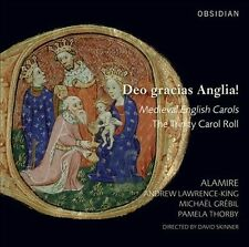 Dea Gracias Anglia! Medieval English Carols, New Music