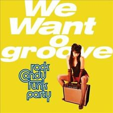 We Want Groove by Rock Candy Funk Party (CD, Jan-2013, 2 Discs, J&R Adventures)