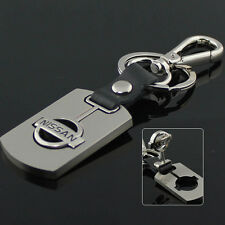 Auto Car LOGO Waist Shape Leather Hook Keychain Key ring Fob Fit for Black NEU