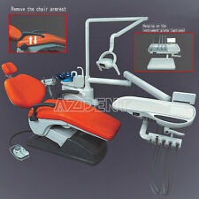 Dental Unit Chair Implant Leather Computer Controlled Handpiece FDA CE Motor CA