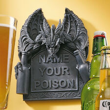 Dragon Wings Bar Decor Decoration Wall Hanging Statue Medieval Gothic Halloween