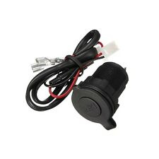 12V/24V Waterproof Power Motorcycle Boat Car Power Cigarette Lighter Socket Plug
