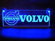 24 Volts VOLVO With LOGO ENGRAVED ILLUMINATING PLATES 24V/5W BLUE LED COLOR