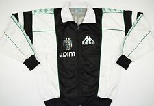 1990-1991 JUVENTUS KAPPA FOOTBALL JACKET (SIZE M)
