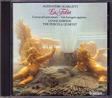 Alessandro SCARLATTI La Folia Variations 2 Cantatas DAWSON PURCELL QUARTET CD