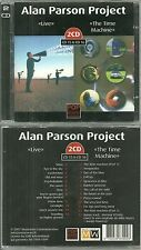 RARE / ALAN PARSON PROJECT : LIVE + THE TIME MACHINE ( 2 CD )COMME NEUF LIKE NEW