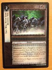 Lord Rings CCG Realms Elf-Lords 3C84 They Will Never Stop Hunting You X2 LOTR