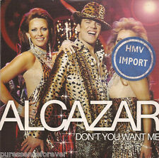 ALCAZAR - Don't You Want Me (Swedish 2 Track CD Single)