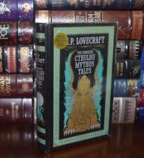 The Cthulhu Mythos Tales by H.P. Lovecraft New Sealed Leather Bound Collectible