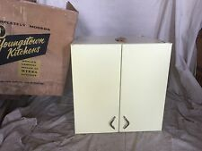 Youngstown Kitchens New Old Stock YELLOW DAWN Upper Cabinet 1950's