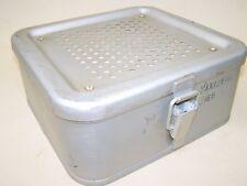 Großer DDR Alu Wärmebehälter Reinigungsbehälter Küchenträger