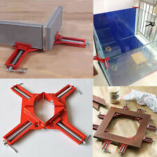 "90° 4"" Corner Right Angle Picture Frame Corner Clamp Holder Woodworking Hand Kit"