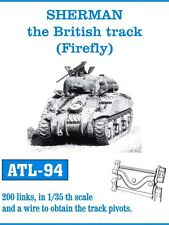 1/35 ATL94 FreeShip FRIULMODEL METAL TRACKS for SHERMAN FIREFLY for DRAGON TASCA