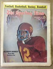 The Sporting News: Ricky Bell HEISMAN WINNER? Southern Cal November 13, 1976